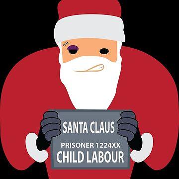 Santa in prison | Santa Claus by DesDesigner