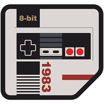 Vintage Video Game Console II by Thir