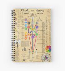Occult Anatomy Spiral Notebook
