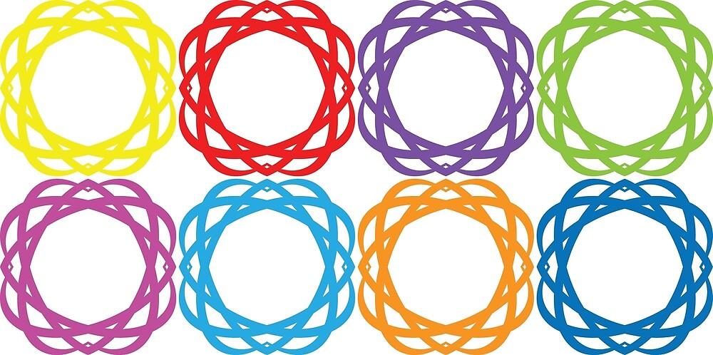 circle texture by Abharan