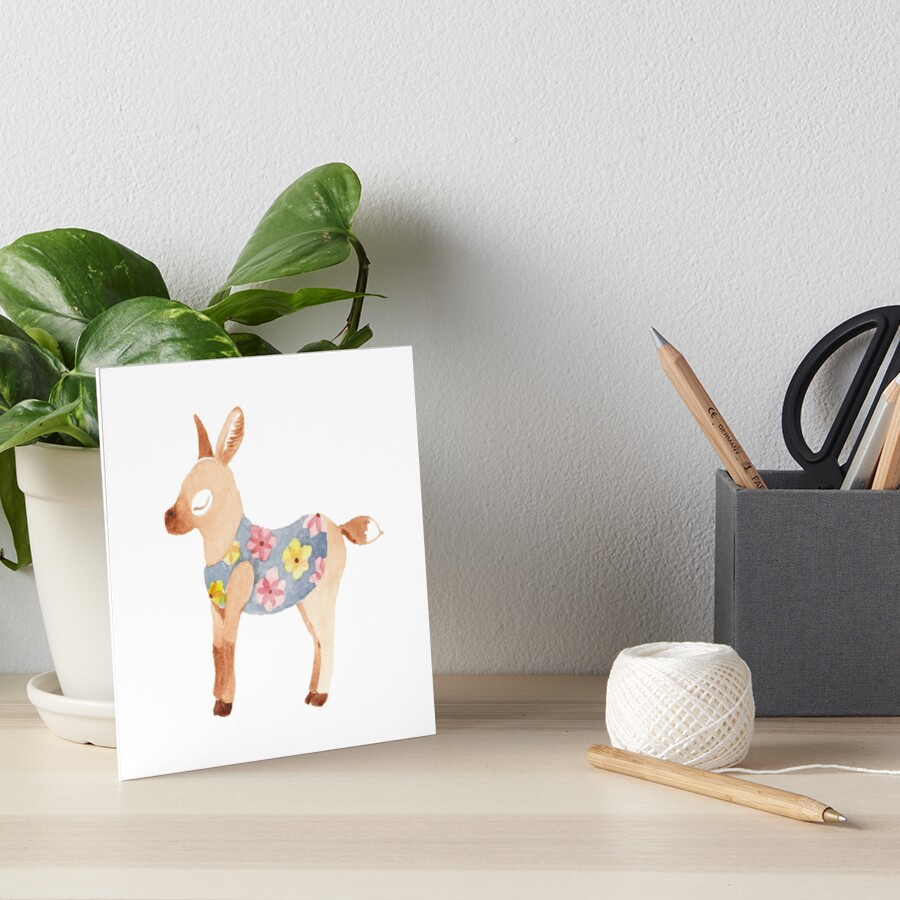 Mini Mule with floral jacket by jjsgarden