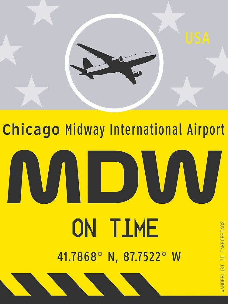 MDW Chicago airport by Wanderlust ID