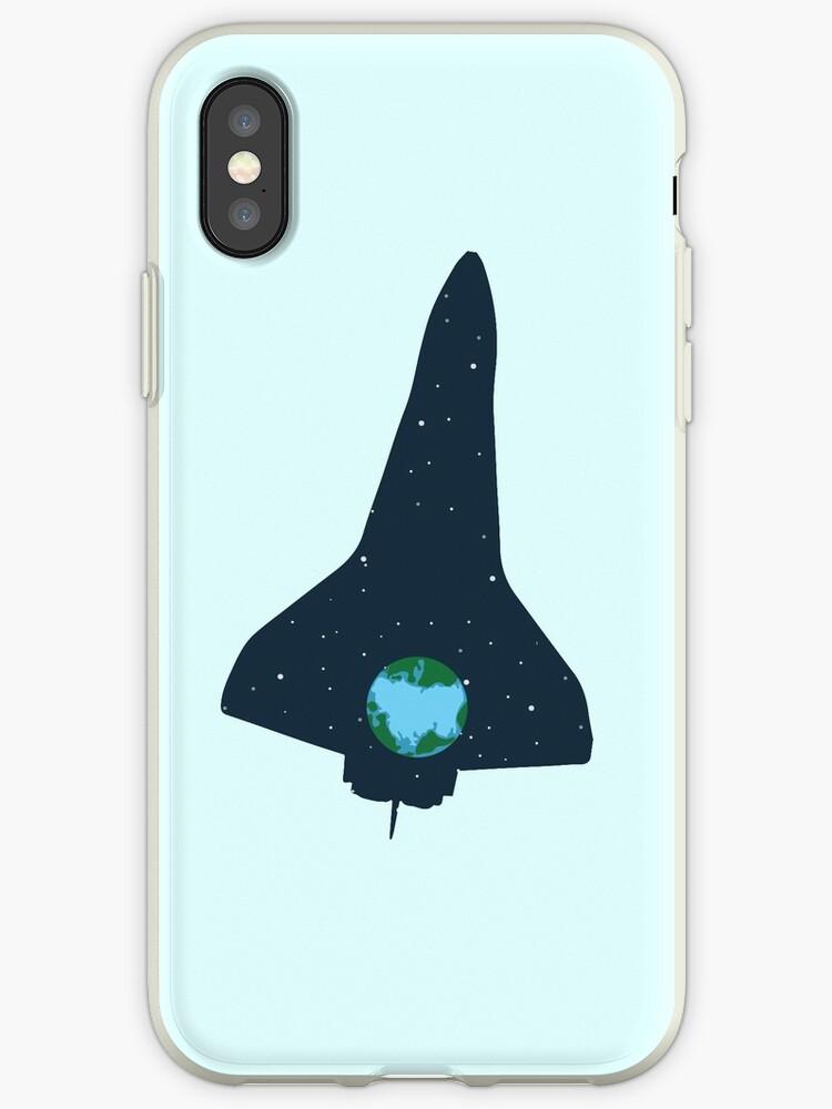 Spaceship   rocket space earth universe by DesDesigner