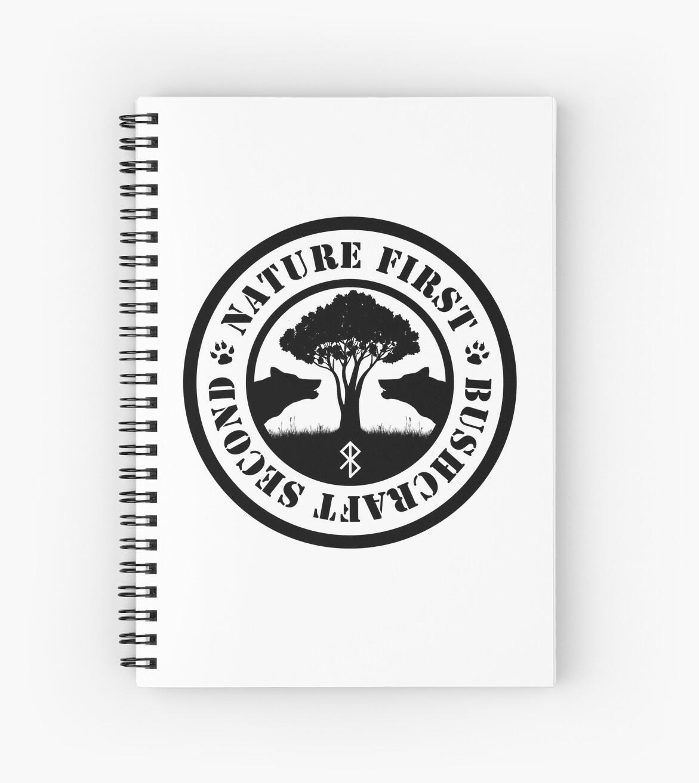 Rathwulven logo black - Nature first, Bushcraft second by RathwulvenArt