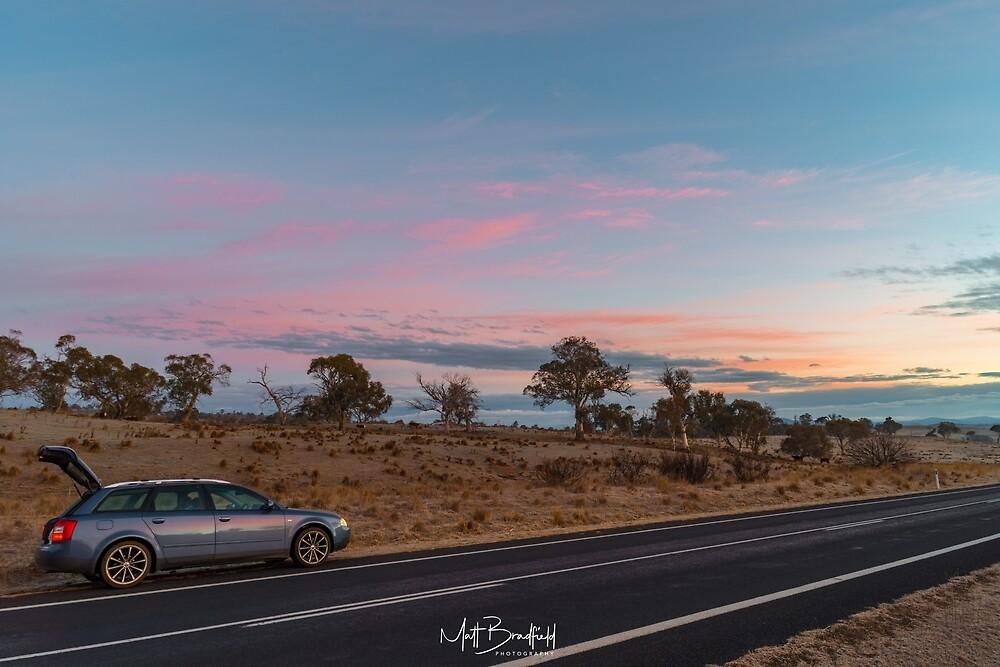 Audi Sunset by MattBradfield