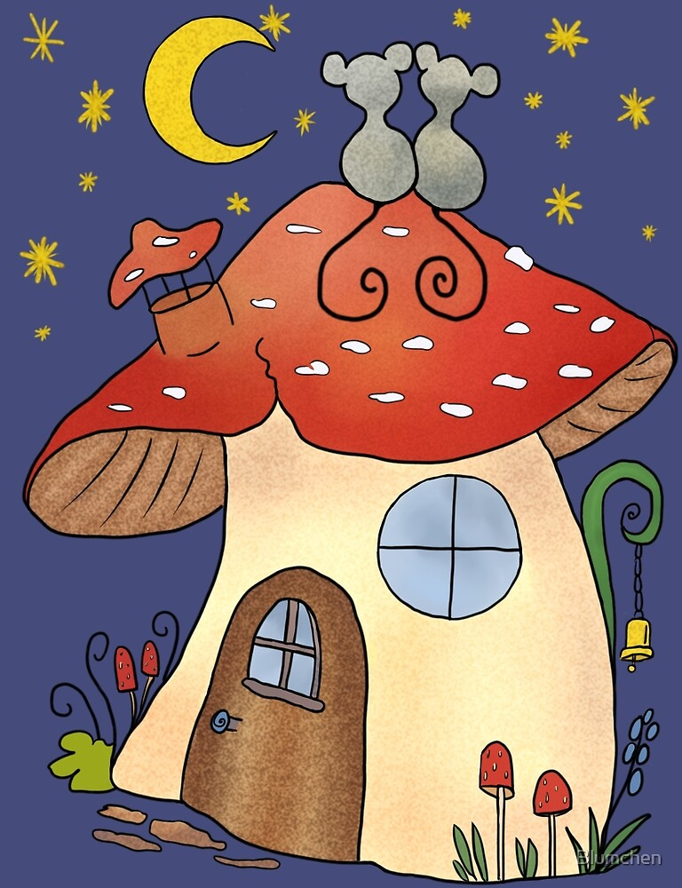 mouse house by Blumchen