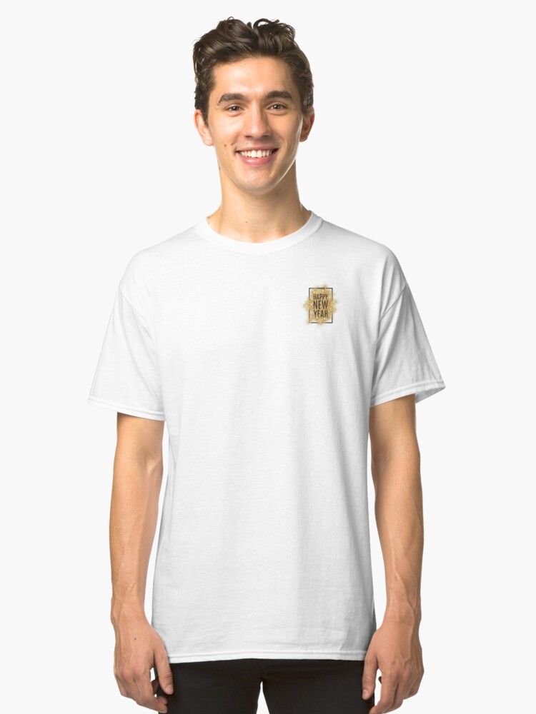 New Year 2019 Classic T-Shirt Front