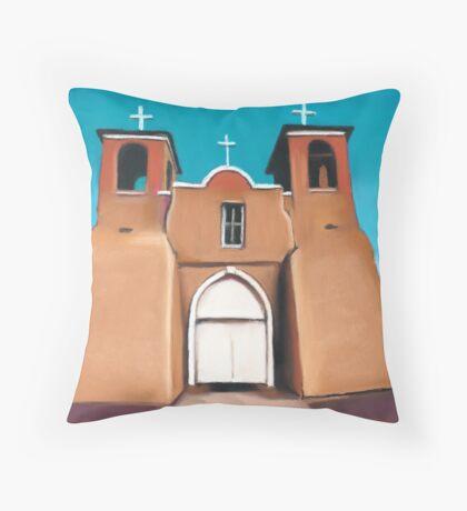 Ranchos de Taos  Throw Pillow