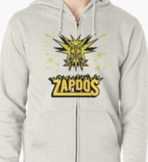 Zapdos Legendary Bird Zipped Hoodie