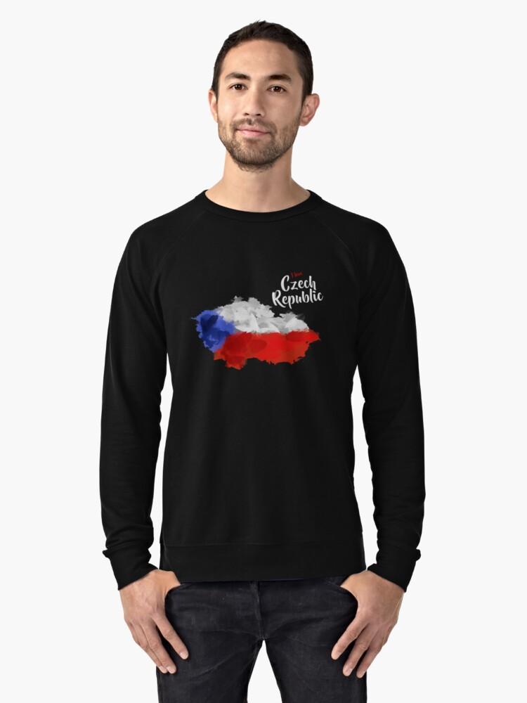 Czech Republic Lightweight Sweatshirt Front
