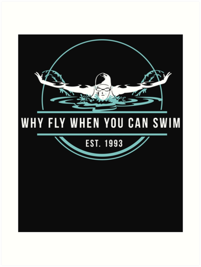 Swimming sports saying by NadjaDesigns