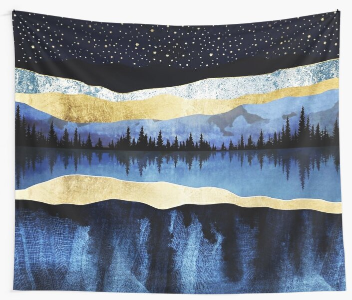 Midnight Lake by HerbertWilson