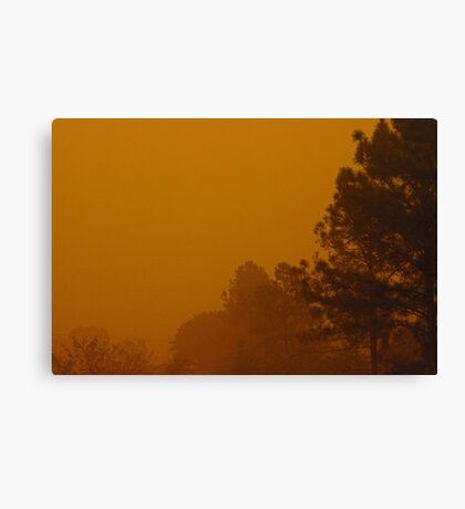 Queensland dust storm 2009 Canvas Print