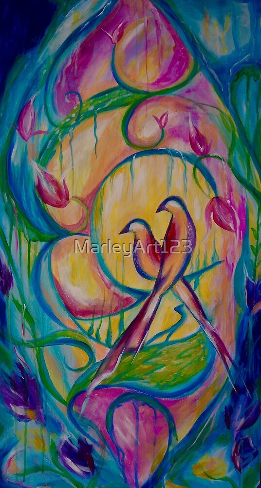 Love Birds by MarleyArt123