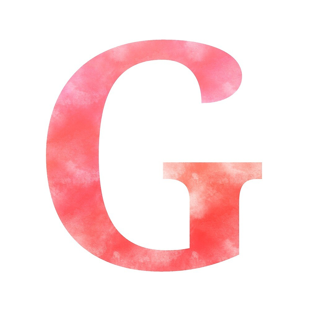 Letter G - Red by gaman