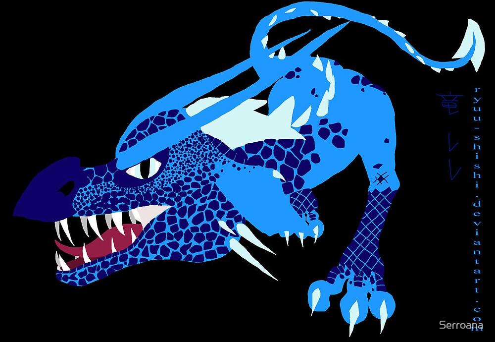 Blue Dragon by Serroana