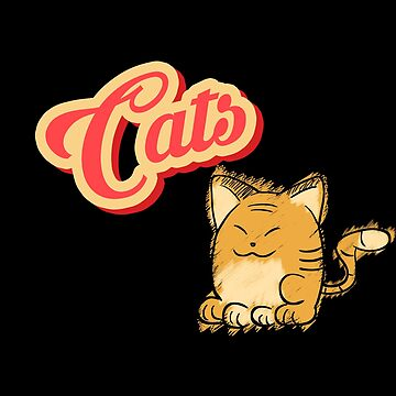 Cat | cute cat lettering by DesDesigner