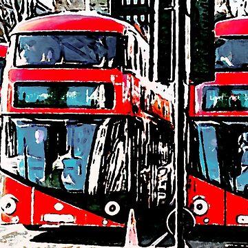 London buses by henryharrison