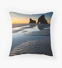 Wharariki Beach Throw Pillow