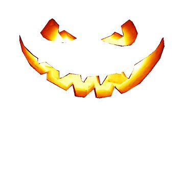 Scary Pumpkin Halloween Face by Jey-Blue