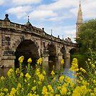 The English Bridge, Shrewsbury, UK by Michael Hadfield
