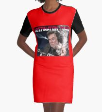 Destination Mars Graphic T-Shirt Dress