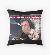 Destination Mars Throw Pillow