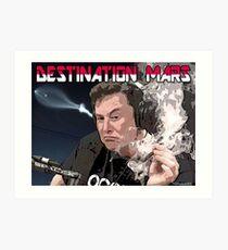 Destination Mars Art Print