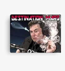 Destination Mars Canvas Print