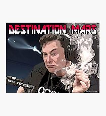 Destination Mars Photographic Print