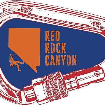 Red Rock Canyon Climbing Carabiner by esskay