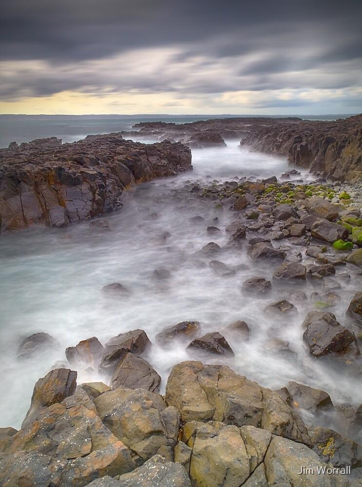 Cowrie beach - Phillip Island by Jim Worrall