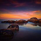 Sunset at Bridport Beach by davidhicksphoto