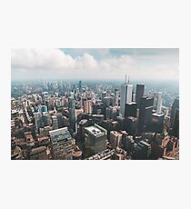Toronto Skyline - CN TOWER - Canada Collection Photographic Print