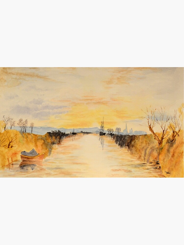 Turner's Chichester canal by ElaZanfi