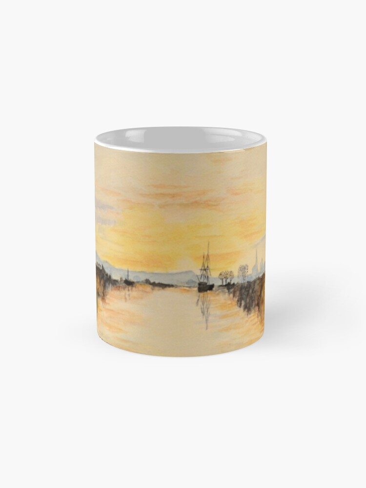 Alternate view of Turner's Chichester canal Mugs