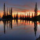 High Mountain Reflection by Dave Hampton