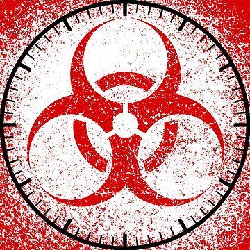 Chemistry science symbol danger by mtsdesign