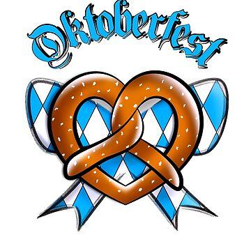 Oktoberfest pretzel by FejuLegacy