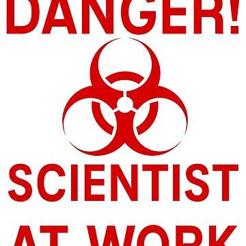 Scientist Bio Hazard by mtsdesign
