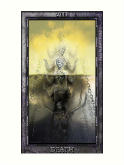 THE TAROT DEATH CARD by Larry Butterworth