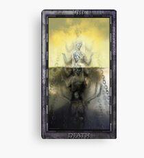 THE TAROT DEATH CARD Canvas Print