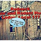 REDNECK FISHIN' AND RODENT HUNTIN' LOCAL 177, Photo, for greeting cards and postcards by Bob Hall©
