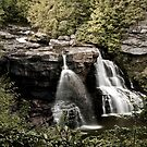 Black Water Falls - Northern West Virginia by Scott Denny