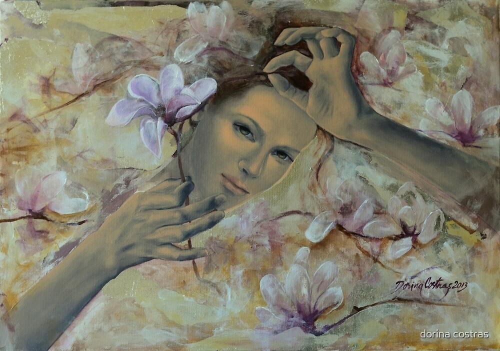 Magnolias by dorina costras