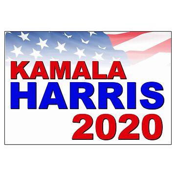 Kamala Harris for President in 2020 by Chunga