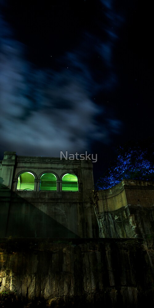 Green Arches by Natsky