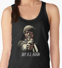 SAY A.I. AGAIN Women's Tank Top