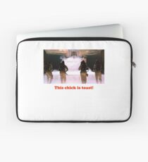 This chick is toast! Laptop Sleeve