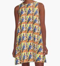 Autumn Bird A-Line Dress